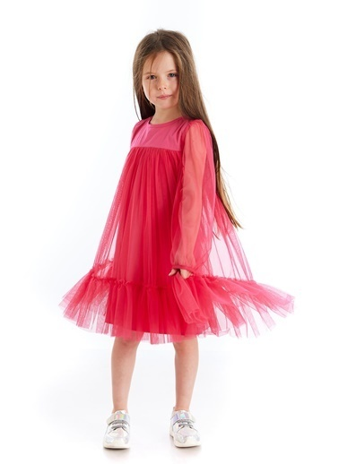 Colorinas Scarlett Tütü Elbise   Fuşya